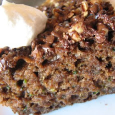 Low Fat Chocolate Zucchini Cake