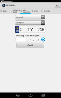 Screenshot of Registru