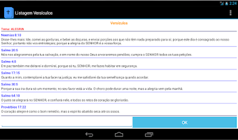 Screenshot of Temas da Bíblia