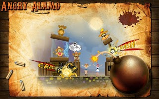 Screenshot of Angry Alamo