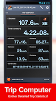 Screenshot of Speed Tracker Free