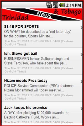 Trinidad and Tobago News
