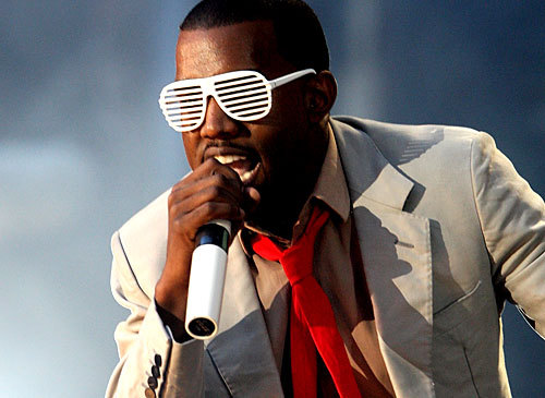 Kanye West Glasses Shutter Shades Blickers