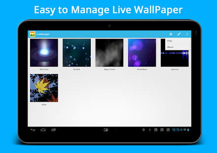 Live Wallpaper Manager - screenshot