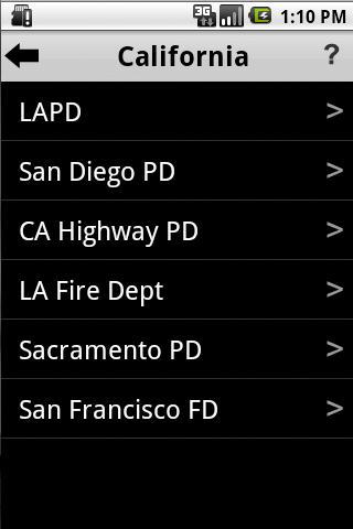 Police Radio Scanner App