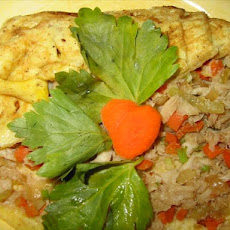Crab Meat or Shrimp Omelette