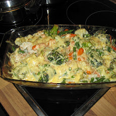 Wild Rice Broccoli Chicken Casserole