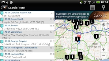 Screenshot of Superstores Locator Free