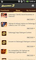 Screenshot of Dabangg 2 Official Free App