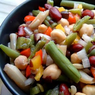 Red Wine Vinegar Three Bean Salad Recipes