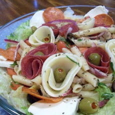 The Dom's Antipasto Salad (With Pasta)