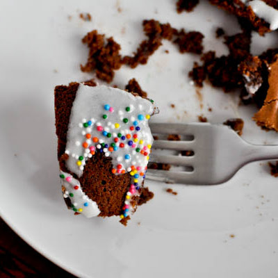 Chewy Brownie Bundt Cake
