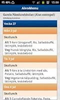 Screenshot of AivoMenu