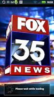 Screenshot of FOX 35 Orlando