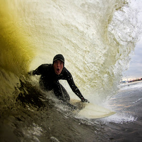 Xavier Stoked by Dave Nilsen - Sports & Fitness Surfing
