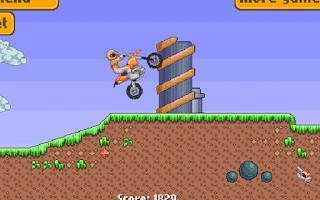 Screenshot of Crazy Bike Mania – Race Game
