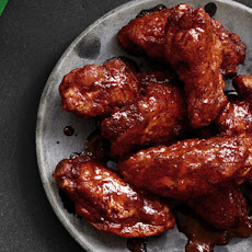 Bobby Flay's Hot Wings with Blue Cheese-Yogurt Sauce