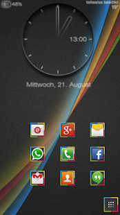 The Droid Effect icon theme 3 - screenshot