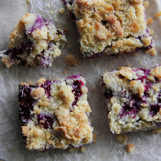 Blueberry-Lemon Crumb Bars