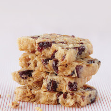 Allison's Honeyed Almond-Cherry Shortbread