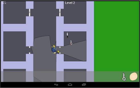 Stealth and Action escape game - screenshot