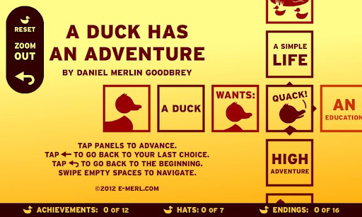 【免費漫畫App】A Duck Has An Adventure-APP點子