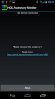 Screenshot of HCC Accessory Driver