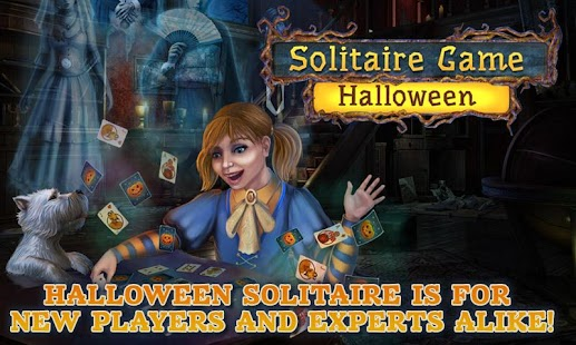 Solitaire Game. Halloween - screenshot