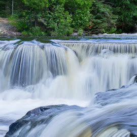Bond Falls by Emily Nichols - Nature Up Close Water (  )