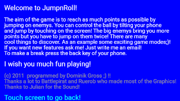 Screenshot of JumpnRoll