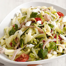 Pasta With Zucchini and Ham