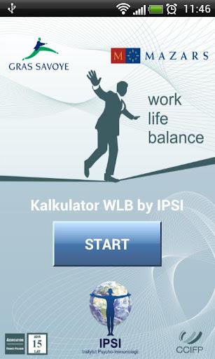 Work-Life Balance Calculator