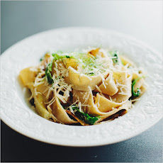 PASTA WITH FENNEL, ARUGULA + LEMON