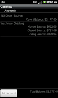 Screenshot of Cashflow