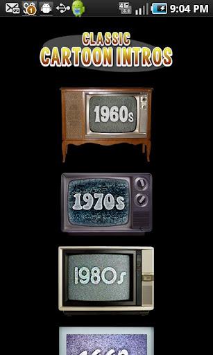 CARTOON INTRO'S 1960's to 2010