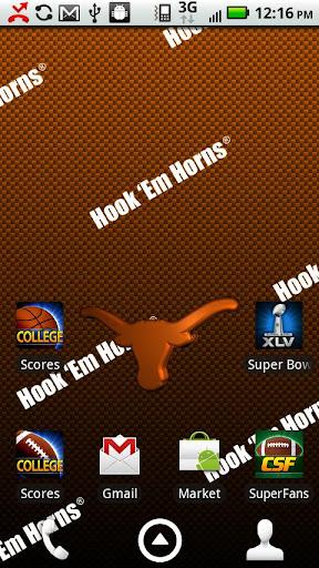 Texas Longhorns Live Wallpaper