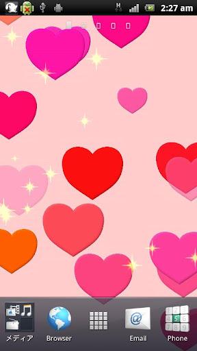 HeartGlitterLiveWallpaperFREE