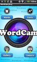 Screenshot of WordCam! (PRO)