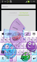 Screenshot of Yo-Yo Keyboard