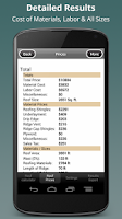 Screenshot of Roofing Calculator PRO