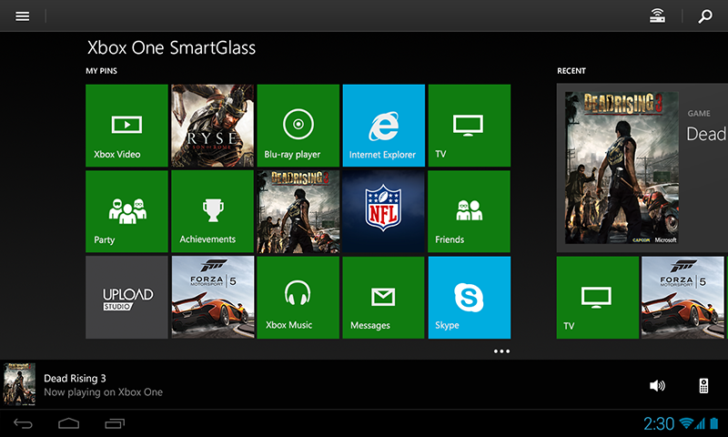 Xbox One SmartGlass Beta Screenshot 7
