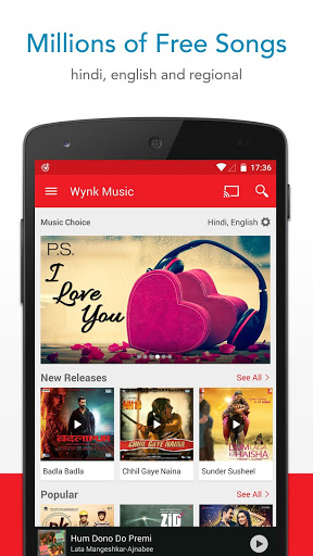 Wynk Music: Hindi & Eng songs Screenshot