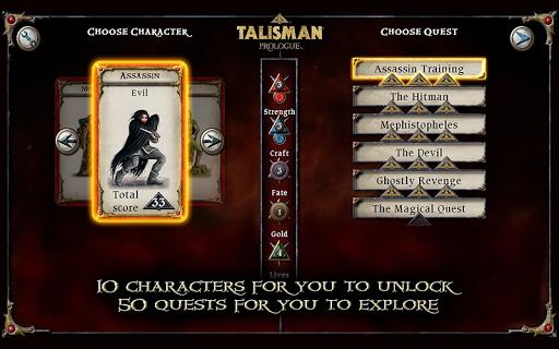 Talisman: Prologue - screenshot