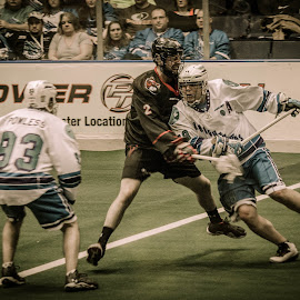 God´s Game by Enrique Santana Carballo - Sports & Fitness Lacrosse ( sports, game, vancouver, lacrosse, rochester )