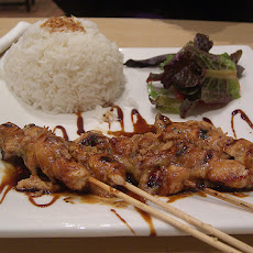 Chicken & Beef Sate With Spicy Peanut Sauce