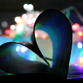 LOVE by Tarunjyoti Tewari - Artistic Objects Signs ( love, heart, abstract art, light, bokeh )