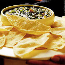 Poppadums With Lime & Coriander Dip