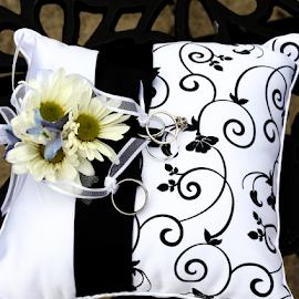 Pillow by Marsha Biller - Wedding Details ( bridal goodies  contest,  )