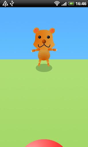 動物とポンポンキャッチボール[幼児向け子供知育]