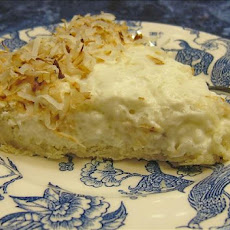 Coconut Tapioca Pie